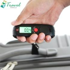 Travel Manila Electronic Luggage Scale (black) By Travel Manila.