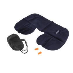 U Cushion Pillow + Eye Mask + 2 Ear Plug