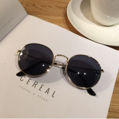 6fd8b6113d8 Korean Style Harajuku Vintage Thin Edge round Frame Sun Glasses women round  Face South Korea SHININGSTAR