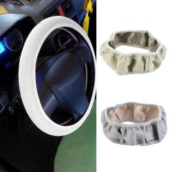 Universal Car Mesh Net Elastic Skidproof Steering Wheel Cover With Holes