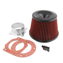 Vehicle Power Intake Air Filter with Funnel Adapter