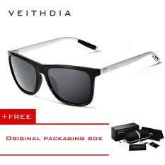 2d9c6f5a71 VEITHDIA Unisex Aluminum+TR90 Sunglasses Polarized Lens Vintage Eyewear  Accessories Sun Glasses For Men