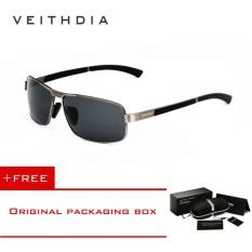 216860bdbf1 VEITHDIA Brand Men s Sunglasses Polarized Sun Glasses Eyewear Accessories  For Men 2490