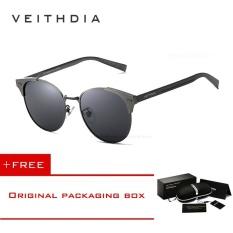 3e59f527d8358 PHP 670. VEITHDIA Unisex Retro Aluminum Brand Sunglasses Polarized Lens  Vintage Eyewear Accessories ...