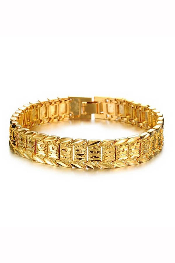 Velishy Men's Bracelet Watch Chain Plated 18K Gold Gold product preview, discount at cheapest price