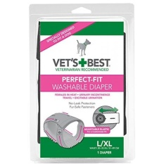 Vets Best Perfect Fit Washable Female Dog Diaper, 1 count - intl Philippines