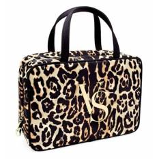 2413f779ffce Victoria's Secret Leopard Hanging Travel Makeup Bag