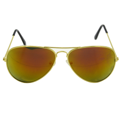 Vococal Vintage Sunglasses (Red + Gold)