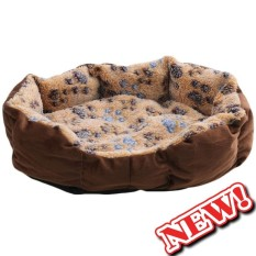 Warm Soft Paw Prints Pet Bed Warming Dog House Soft Material Pet Nest Dog Fall And Winter Warm Nest Kennel For Dog Cat Puppy - Intl By Cn Pioneer.