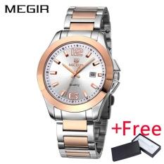 Wholesaler MEGIR MS5006G Original Men Watch Jam Tangan Stainless Steel  Business Quartz Watch Jam Tangan es 67f72f37c0