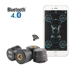 Womdee Smart Bluetooth Tire Pressure Monitoring System Tpms First Mobile Phone App Monitoring With External Sensor - Intl By Womdee.