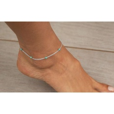 Women Girls Handmade Bead Chain Anklet Foot Leg Chain Bracelet Jewelry SR - intl