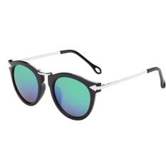 Women Men Designer Fashion Glasses Metal Frame Unisex Fashion Sunglasses - intl