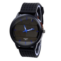 Women Retro Digital Dial Leather Band Quartz Analog Wrist Watch Watches - intl