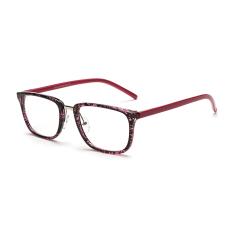 Women's Eyewear Fashion Rectangle Glasses Purple Frame Glasses Plain for Myopia Women Eyeglasses Optical Frame Glasses