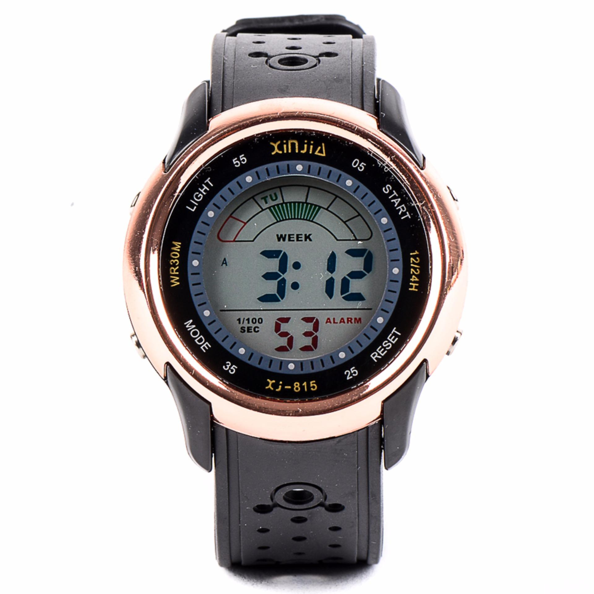 Xinjia Men's  Digital Waterproof Sports Watch Brass XJ-815 product preview, discount at cheapest price