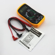 Xl-830l Handheld Lcd Digital Multimeter 3 1/2 Voltmeter Ohmmeter Multitester F7 - Intl By Greatsell.