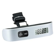 YSLMY chechang Hanging Portable Digital Luggage Scale Gadget Suitcase Weighing (Silver Black) - intl