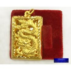 Zerheas Solid 24k Dragon Pendant By Zerheas Jewelry Collection
