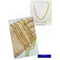 Gold necklace for men for sale mens gold necklace online brands zerheas special cadena hallow chain 18karat mozeypictures Image collections