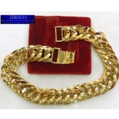 Zerhea S Solid Box Lock Bracelet 18k