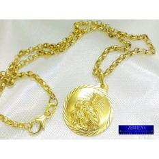 Zerheas St. Benedict In Tawco Chain 18k By Zerheas Jewelry Collection.
