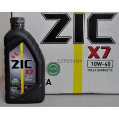 ZIC X7 10W-40 Fully Synthetic DIESEL Motor Oil 1L