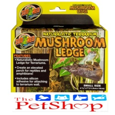 Zoo Med Mushroom Ledge (small Naturalistic Terrarium) By Thepetshop.