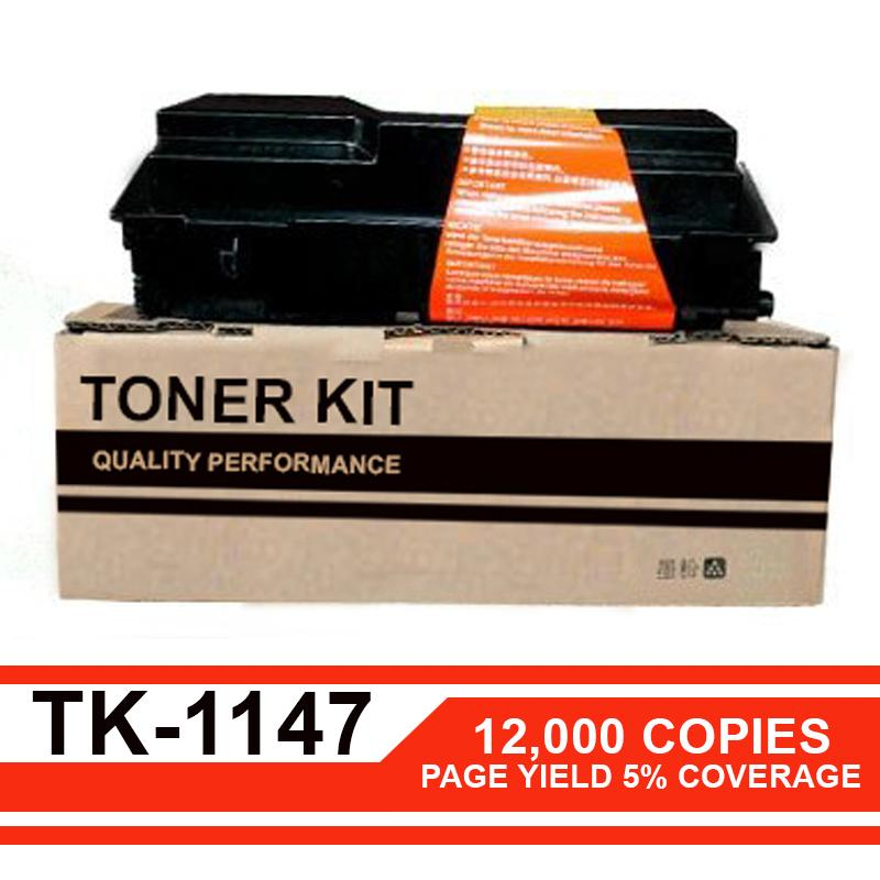12K Copies Tk1147 Compatible Toner Cartridge for Kyocera PRINTER  FS-1035MFP/1035MFP/DP/1135MFP/ ECOSYS M2035dn/M2535dn