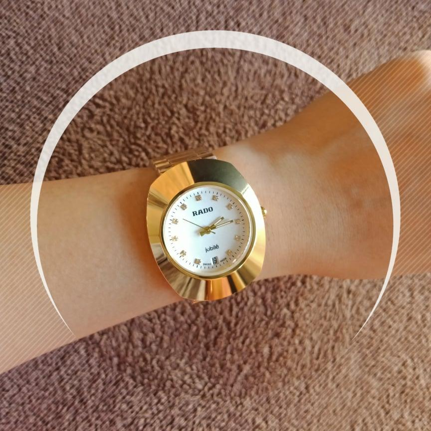 Japan Quality Gold WhitedialDial Watch