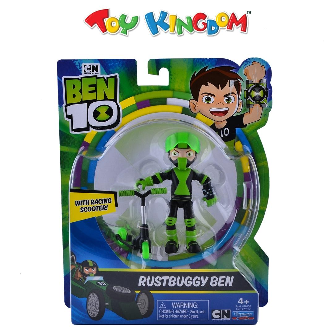 Ben 10 Rustbuggy Ben with Racing Scooter Toys for Boys