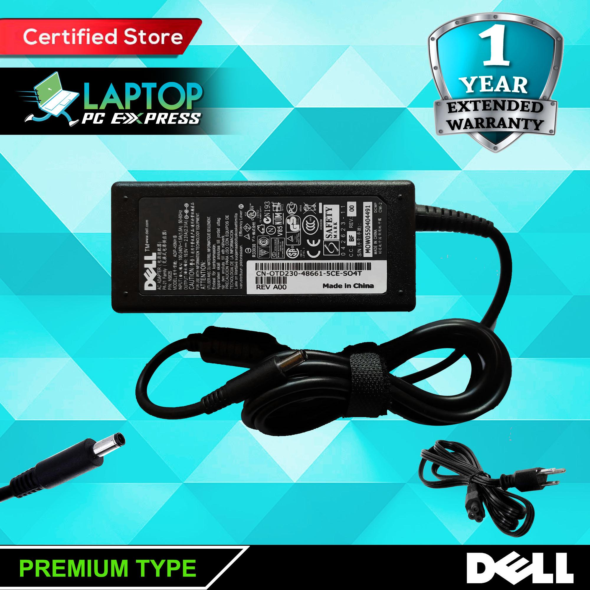 Dell Laptop notebook ac adaptor Charger 19 5V 2 31A 45watts ( 4 5mm x 3 0mm  )