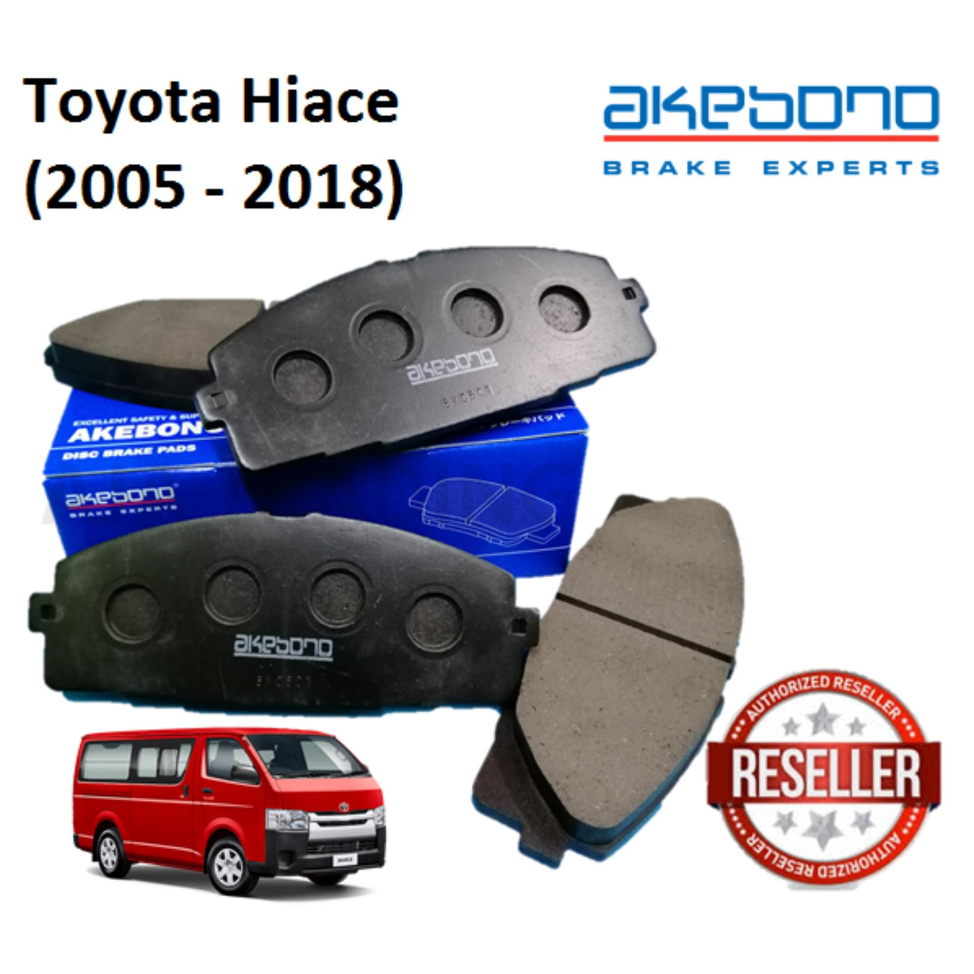 Genuine Akebono Front Brake Pads for Toyota Hiace (2005 - 2018)