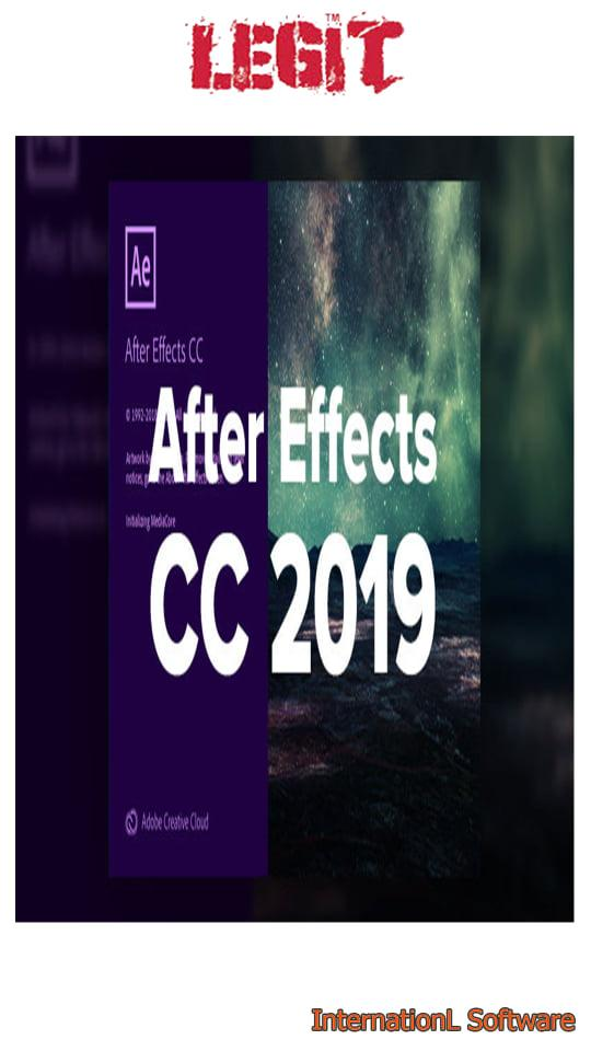 Adobe After Effects + Windows 64 bit + Mac Os X + Pre-activated + Lifetime  + Easy to Install + Virus Free