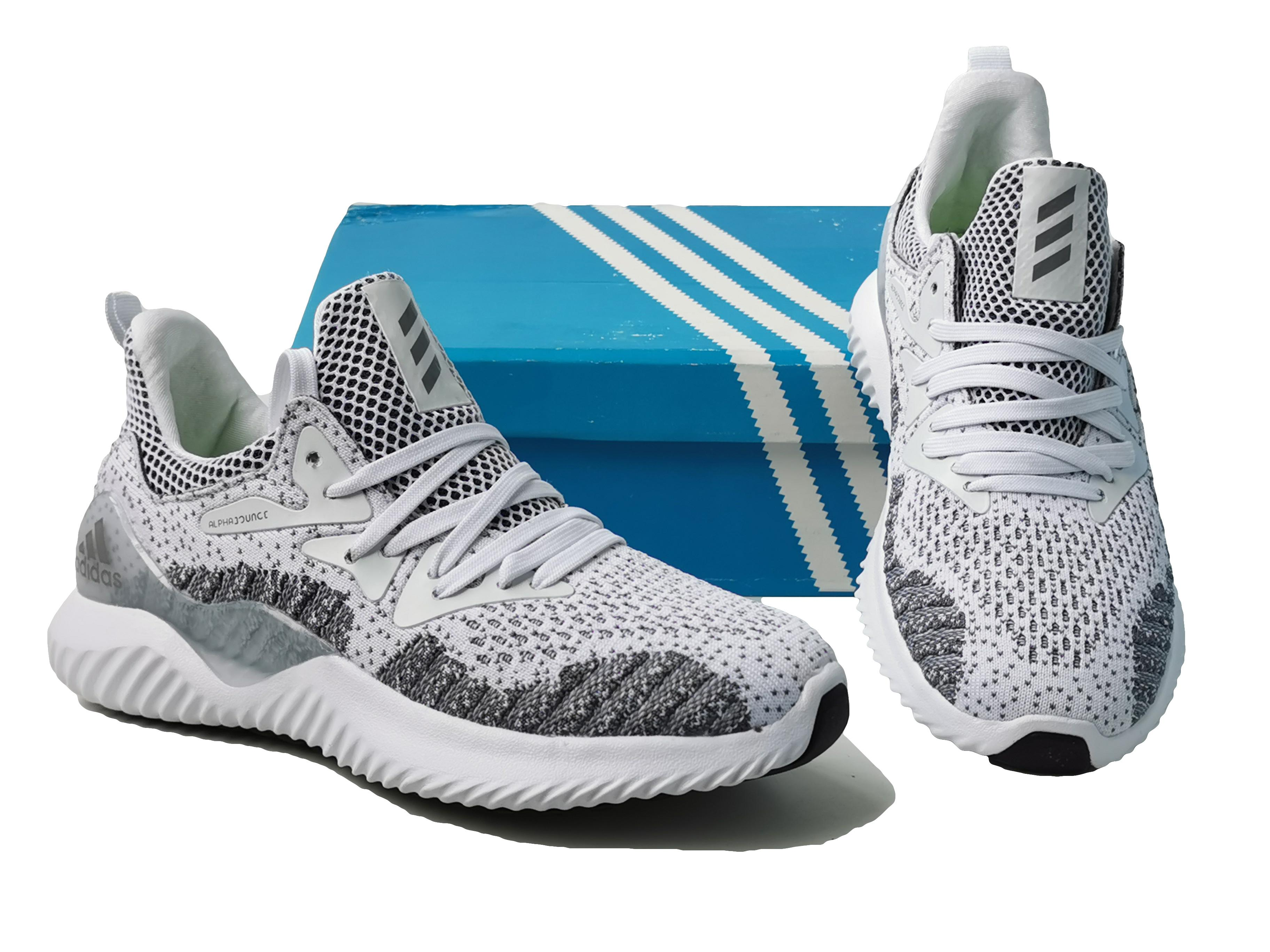 NEW!!!Free shipping! white gray Alpha Bounce Beyond Running Sport Shoes For Men Size(36 37 38 39 40 41 42 43 44 45)