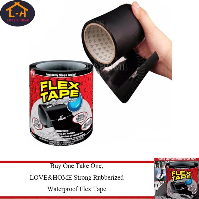 Bvs Buy1 Take 1 Strong Rubberized Waterproof Flex Tape By Big Value Shop.