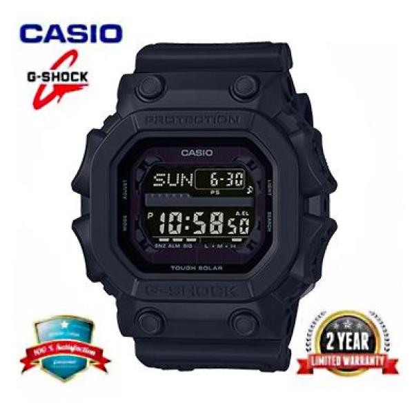 G Shock GX56BB Men Sport Watch Dual Time Display 200M Water Resistant Shockproof and Waterproof World Time White LED Auto Light Man Sports Wrist Watches with 2 Year Warranty GX56BB 1 Black Malaysia