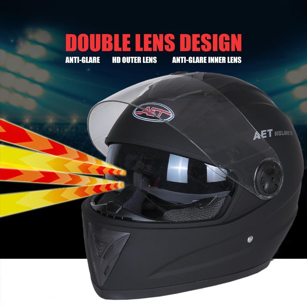 [Ready Stock] 1PC Hot sale Motorcycle Helmet Modular Moto Helmet With Inner  Sun Visor Safety Double Lens Racing Full Face Helmets ZK20
