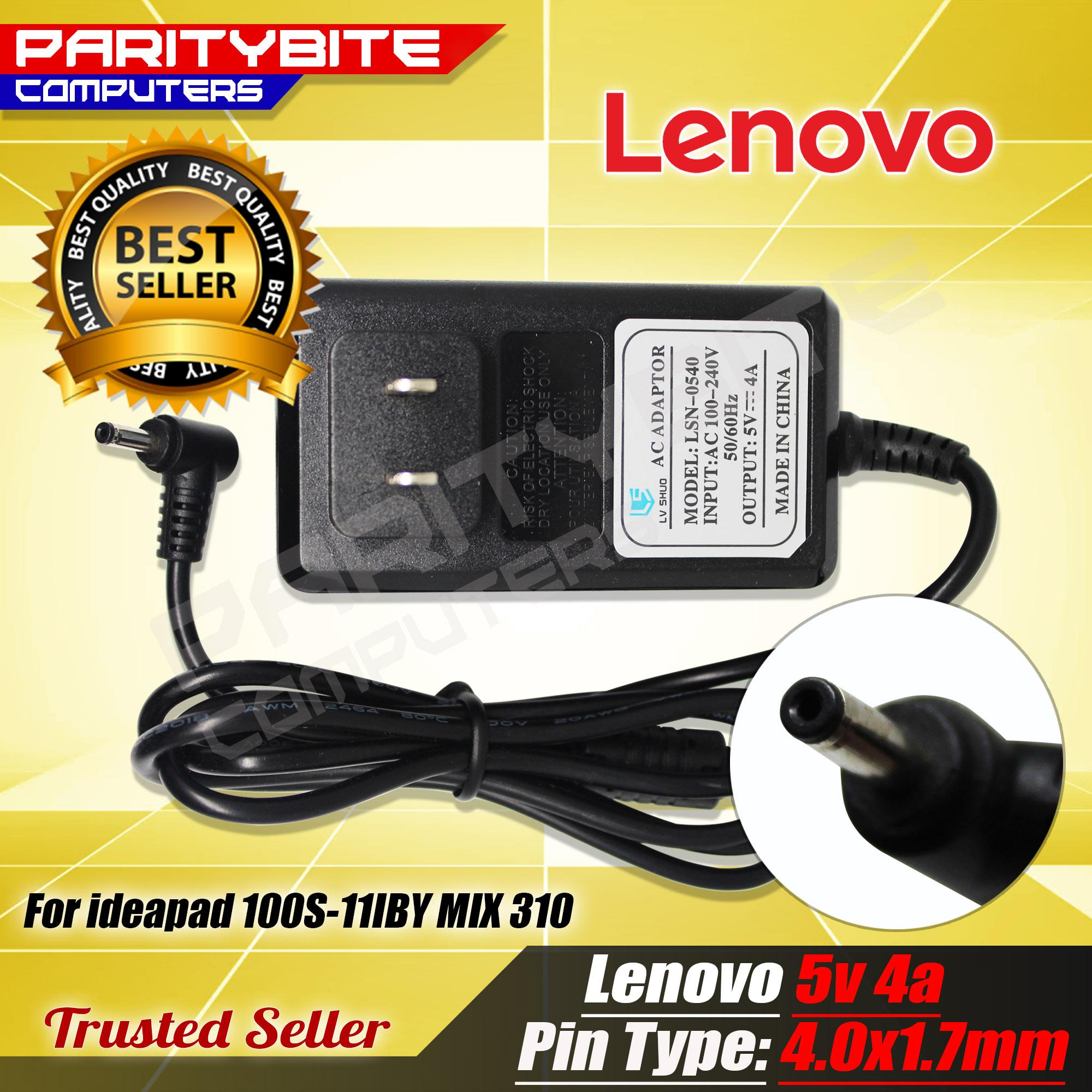 LENOVO Laptop Charger 5V 4A 4 0mmx1 7mm 20W for ideapad 100S-11IBY MIX 310