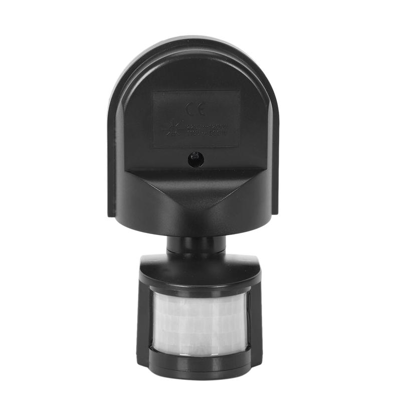 Outdoor Security PIR Infrared Motion Sensor Detector Switch 160° For LED Light
