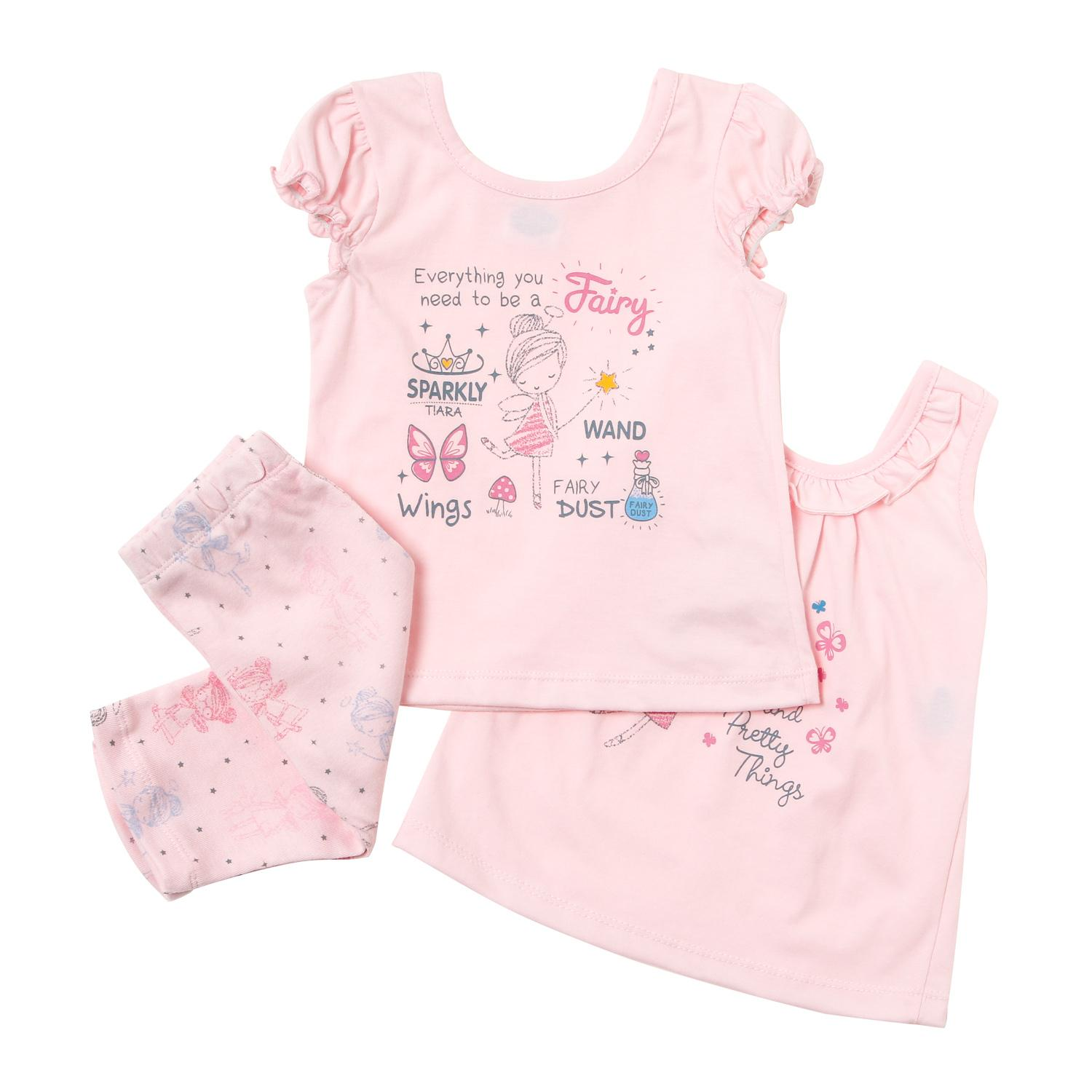 f25fc24515af1 Nap Toddler Girls Fairy Wand Clothing Set