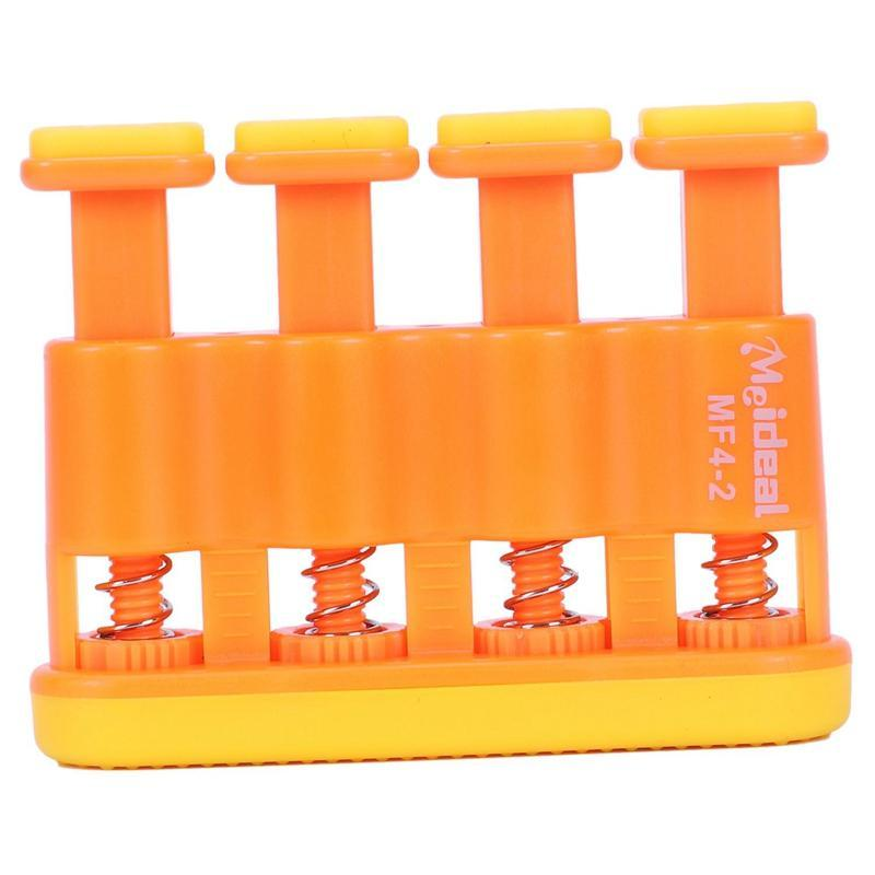 Adjustable gripmaster Finger exerciser Strength trainer for musicians - Orange Malaysia