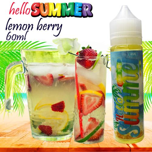 Premium Smok 3MG E-Cigarette Kits Accessories E-Juice,Vape Juice,E-Liquid A21 Hello Summer Lemon Berry 60ml
