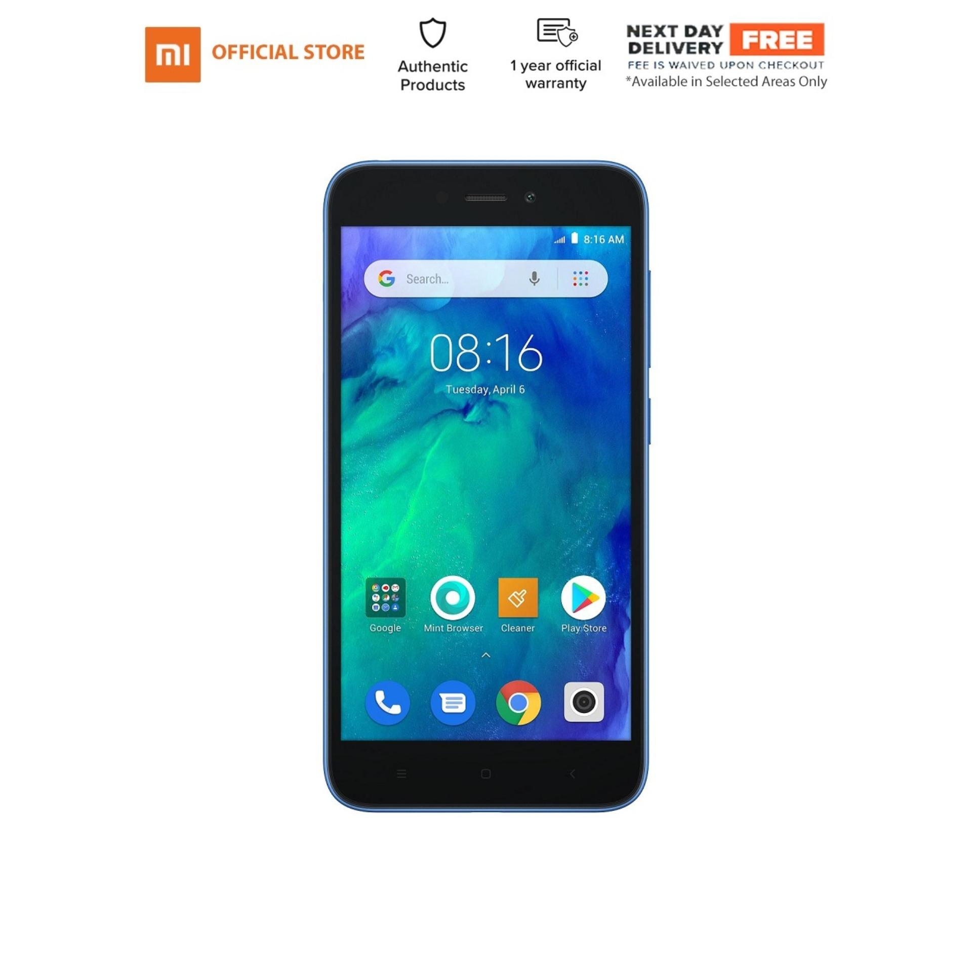 Xiaomi Redmi Go 1gb Ram 8gb Rom (dual Nano Sim + Up To 128gb Expandable Storage) By Lazada Retail Xiaomi.