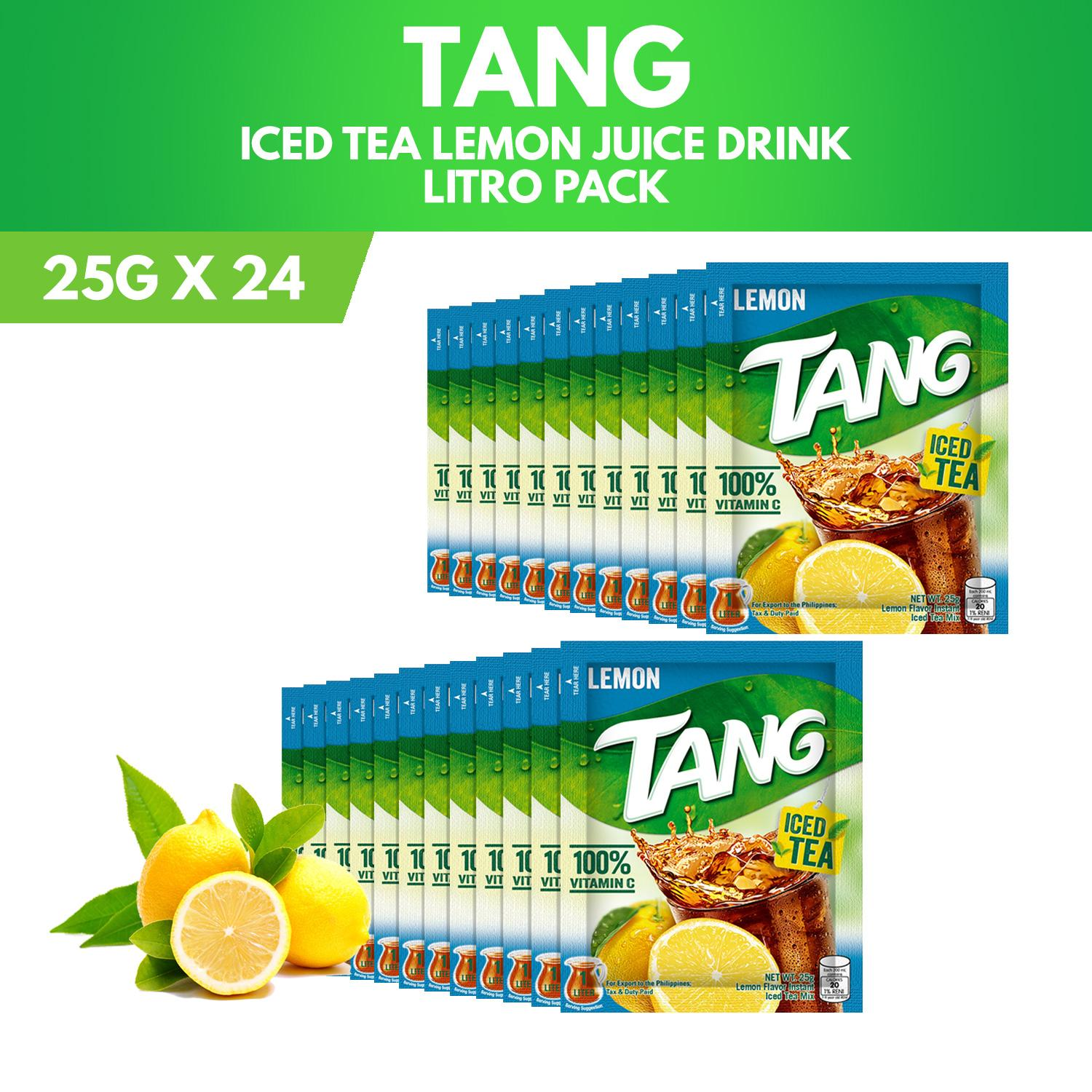 hot sale online 1d175 1b4c1 Tang Iced Tea Lemon Litro 25g (Pack of 24)