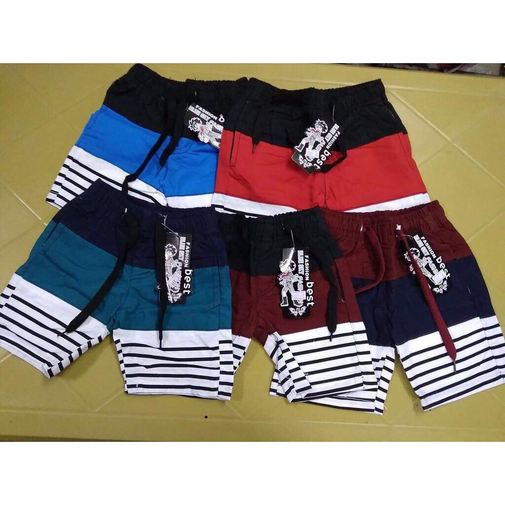Blue Sky Short 3 Colors With Stripe For Kids By Blue-Sky.