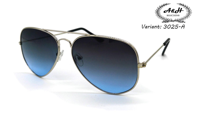 8be699042 A&H Classic Aviator Sunglasses / eyewear for men and women model 3025 /  SUNNIES