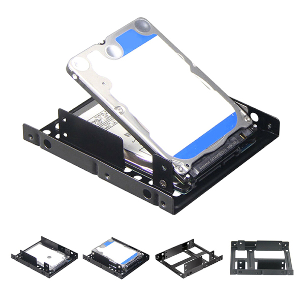 Veli Shy 2.5 inch to 3.5 inch SSD Solid Hard Drive Bay Tray Mounting Bracket Adapter