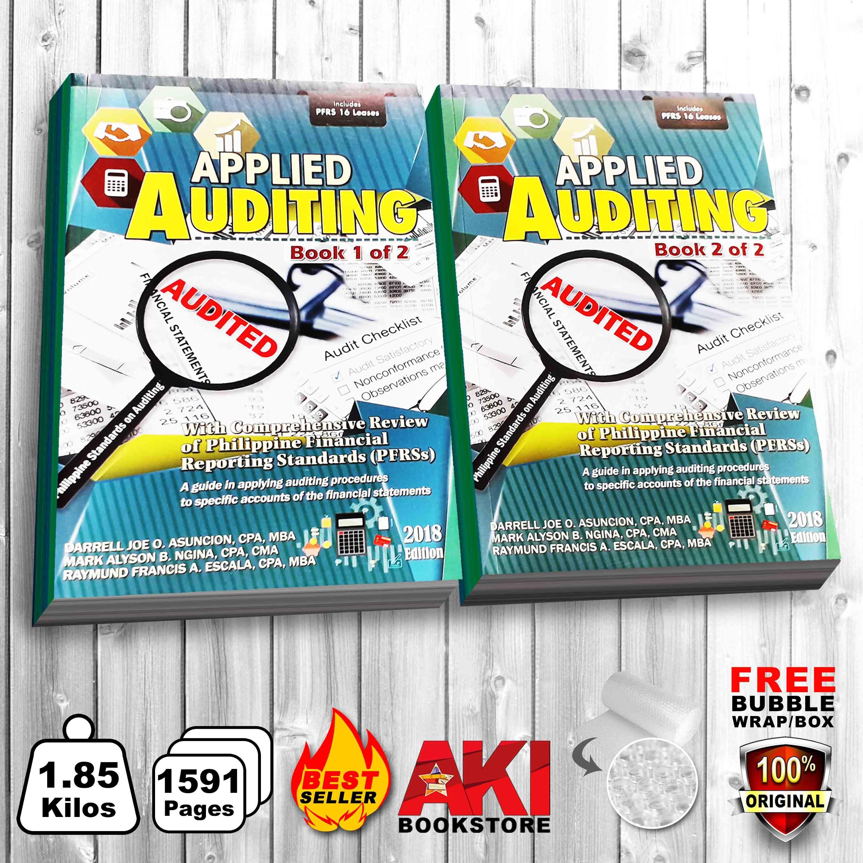 Authentic Applied Auditing 2018 Book 1 & 2 Darell Joe O. Asuncion, Mark Alyson B. Ngina & Raymund Francis A. Escala By Aki Merchandise.