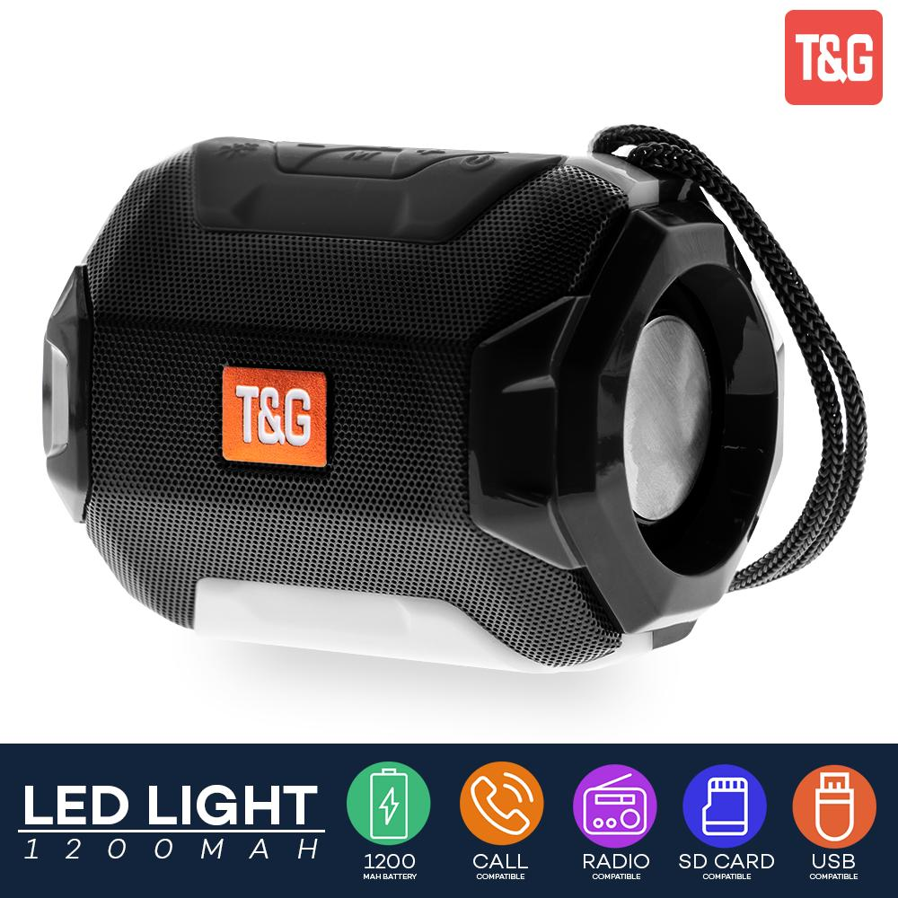 T&g Tg162 Portable Hi-Fi Stereo Bluetooth With Usb Tf Card And Fm Radio Function Outdoor Wireless Speaker By Lucky Hr.
